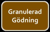 Granulerad gödning
